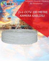 2+1 Cctv 100 Metre Kamera Kablosu