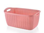 çamaşır Sepeti Köşeli Örgü Tp4001