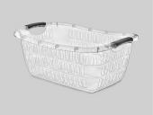 çamaşır Sepeti Köşeli Şeffaf E291