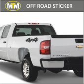 4x4 Off Road Oto Sticker