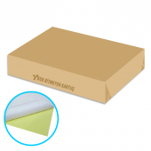 Kuşe Yapışkanlı Sticker Kağıt A6 10x15 Mat 90gr M 50 Adet Paket