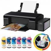 Epson L805 Süblimasyon Mürekkepli 6 Renk Yazıcı