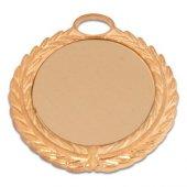 Madalya 5.50cm Çelenkli Altın , Süblimasyon Transfer Baskı