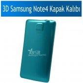 3d Samsung Note 4 Kapak Baskı Kalıbı