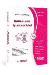 Aöf Konaklama İşletmeciliği 4. Sınıf 7. Yarıyıl Güz Dönemi Egem Yayınları