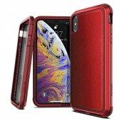 X Doria İphone Xs Max Defense Lux Kırmızı Kılıf