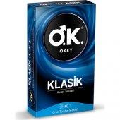 Okey Klasik Prezervatif 10lu