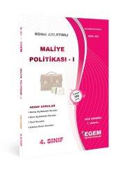 Aöf Maliye Politikası I 4. Sınıf Güz Dönemi Konu Anlatımlı Soru Kitabı Tek Egem Yayınları