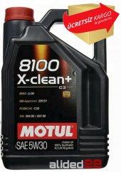Motul 8100 X Clean+ 5w30 5 Litre Motor Yağı