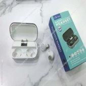 S8 Çift Bluetooth Kablosuz Kulaklık Powerbank Özel...
