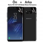 Samsung Galaxy Note 4 Nano Full Body Ön Arka Alt Ü...