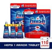 Finish Hepsi Bir Arada 55x2 Tablet + Parlatıcı 3x400 Ml