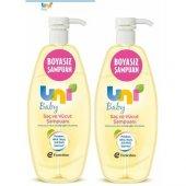 Uni Baby Boyasız Saç Ve Vücut Şampuanı 750 Ml 2 Pa...