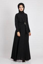 Puane Kadın Siyah Elbise 12109