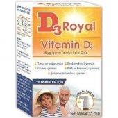 D3 Royal Vitamin D3 1000 Iu Oral Damla 15 Ml