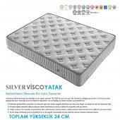 Kupons Silver Yaylı Visco Yatak 150x200 Cm