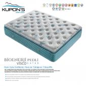 Kupons Bioenerji Pedli Yaylı Visco Yatak 150x200 Cm