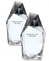Avon Perceive Erkek Parfüm Edt 100 Ml. 2li Set
