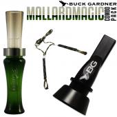 Buck Gardner Mallard Magıc Ördek Düdüğü Seti