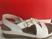 Polaris Beyaz Comfort Sandalet