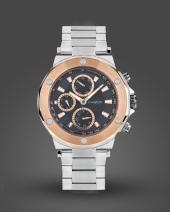 I Watch 5243.c6 Roze Çerçeve Detaylı Spor Erkek Kol Saati
