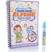 Sihirli Boyama Kitabı Özel Kalemi Water Magic Su İle Boyama İngil