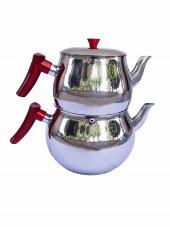 Jumbo Boy Çaydanlık 6,5 Lt (4 + 2,5)kırmızı