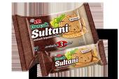 Burçak Sultani Üzümlü Kepekli Bisküvi 123 Gram 12 Adet