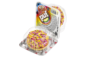 Puf Renkli Granül Kaplamalı Marshmallow Bisküvi 18 Gram 48 Adet
