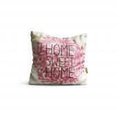 Home Sweet Desenli Dijital Baskılı Dekoratif Kırle...