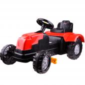 şimşek 8073 Pedallı Römorklu Kırmızı Traktör...