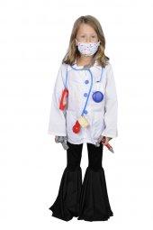 Unisex Erkek Kız Çocuk Ameliyat Kostümü
