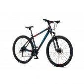 Corelli Leone 26 Jant Mtb 27 Vites Siyah Mavi Kırmızı Bisiklet