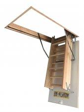 70x120 Optistep Ahşap Çatı Merdiveni