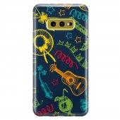 Samsung Galaxy S10e Kılıf Silikon Arka Koruma Kapak Eğlence Desen