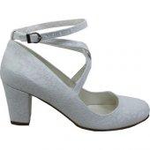 Kadir Ekici Beyaz Bağlı Ayakkabı