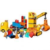 Led10813 Dup Büyük İnşaat Sahası 67 Pcs Duplo 2 5yaş Lego