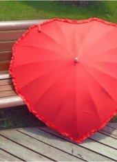 Kalp Biçimle Şemsiye 1. Sınıf Fotoğraf Çekimi