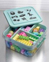 Oyuncak Kutusu Çocuk Bebek Lego Gondol Mybox 4,50 Lt G610 T