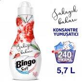 Bingo Soft Konsantre Çamaşır Yumuşatıcısı Şakayık Baharı 1440 Ml Ekonomi Paketi 4lü
