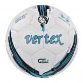 Vertex Golf Dikişli 5 No Futbol Topu Beyaz Mavi