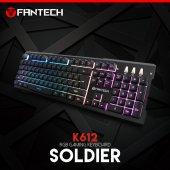 Fantech K612 Soldıer Mekanik Hisli Gaming Oyuncu Klavyesi