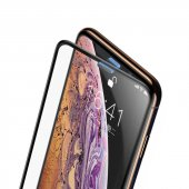 Apple İphone Xs Max 6.5 Baseus Full Screen Curved Tempered Glass