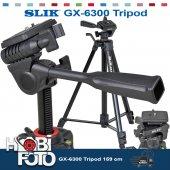 Canon G1x İçin Profesyonel Slık Gx 6300 Tripod 159 Cm