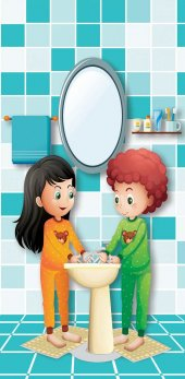 Wc, Lavabo, Tuvalet Kapı Giydirme 102