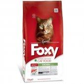 Foxy Tavuklu Yetişkin Kedi Maması 15 Kg