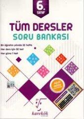 Karekök Yayınları 6. Sınıf Tüm Dersler Soru Bankası