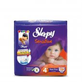 Sleepy Sensitive Bebek Bezi 4 Numara Maxi Plus Ped Hediyeli 26 Ad