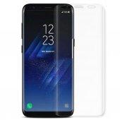 Samsung Galaxy S9 Kavisli Tamperli Kırılmaz Cam Ta...