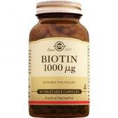 Solgar Biotin 1000 Mcg 50 Bitkisel Kapsül